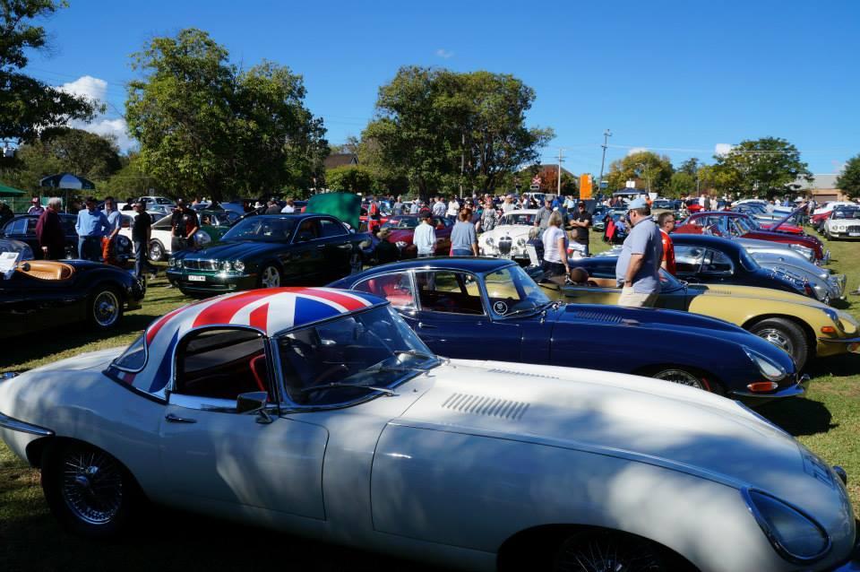 British car show Gingin