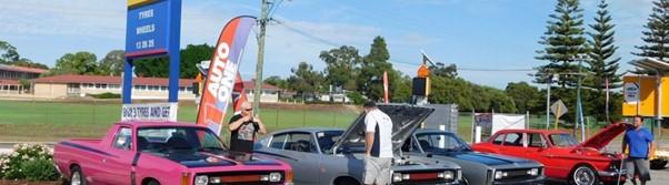 Mopar car event